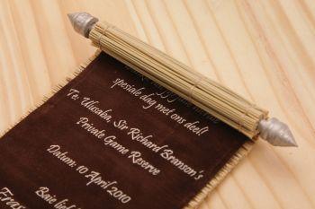 afrocardz-bespoke-stationery-johannesburg-roll-up-wedding-invitation