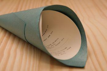afrocardz-bespoke-stationery-johannesburg-bespoke-wedding-invitation-cone-shape-blue